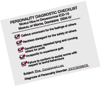 DSM4 psychopath