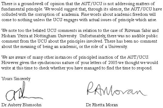 Bullying Of Academics In Higher Education A Letter To